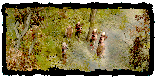 File:Geralt with scoiatael posse.png