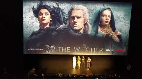 The Witcher Fan Experience cast 12 03 2019