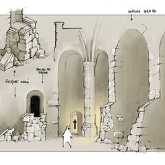 archways and doors, scale