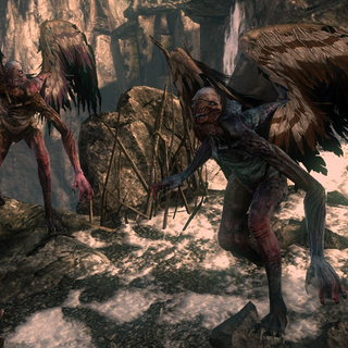 Arpie in <i>The Witcher 2</i>