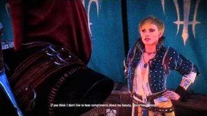 Geralt romances Ves