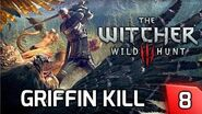 Witcher 3 The Griffin Fight - Gameplay & Story Walkthrough 8 PC
