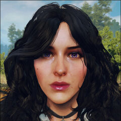 Work in progress model of Yennefer's face for TW3, based on Klaudia Wróbel