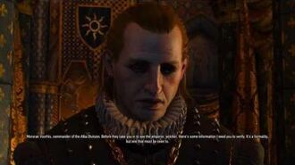 The Witcher 3 Extra - Morvran Voorhis Interrogation (Geralt's background)