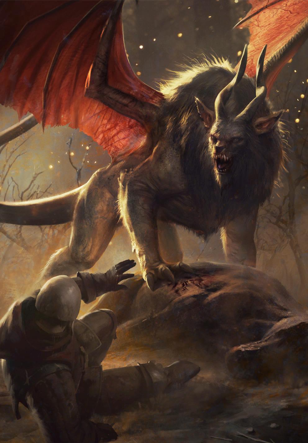 Manticore   Witcher Wiki   FANDOM powered by Wikia