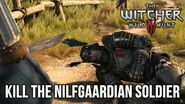 Witcher 3 Choosing to Kill the Nilfgaardian Soldier (Ves and Vernon Roche)