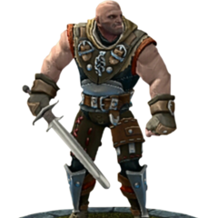 Letho's character model in TWBA