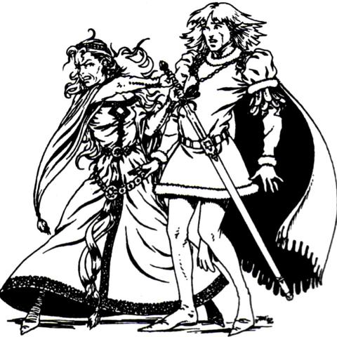 drawing Fulko's sword to kill <a href=