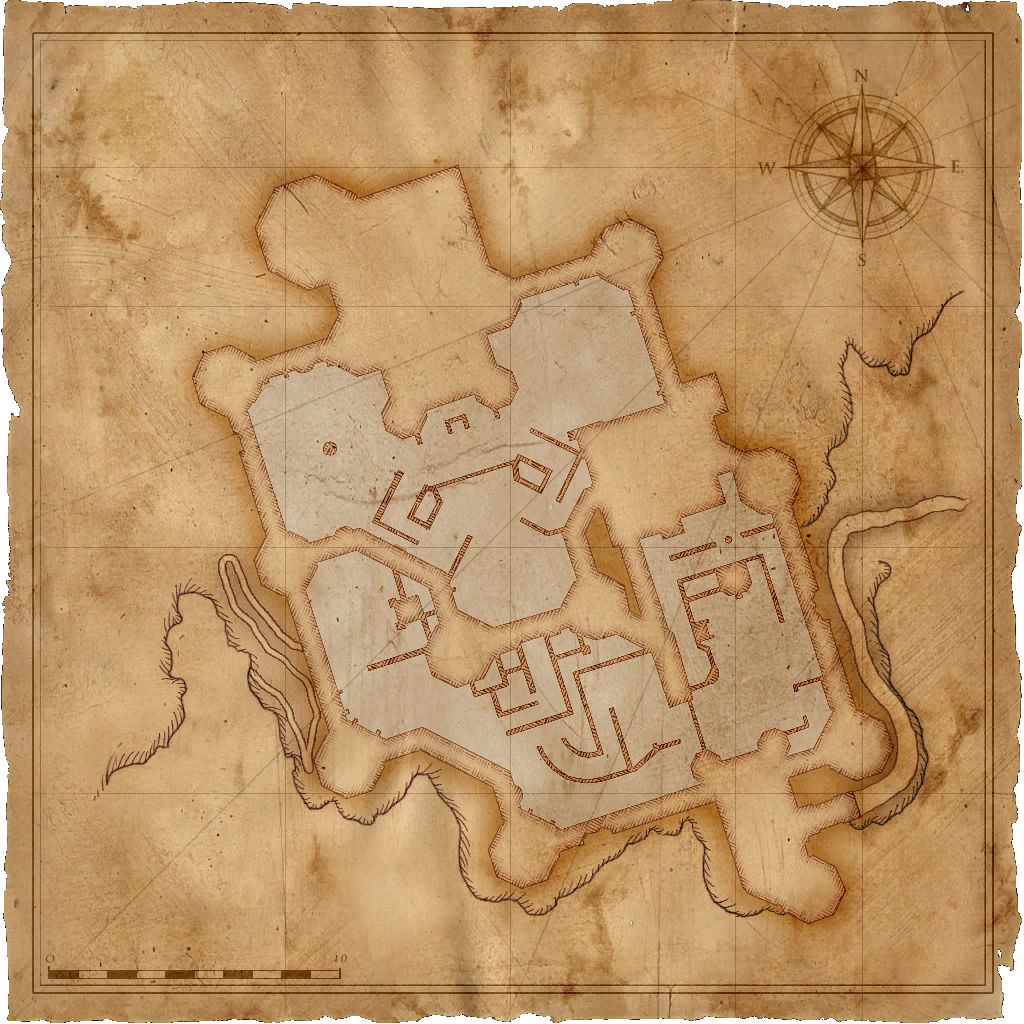 Map Kaer Morhen exterior