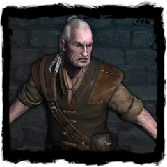 Vesemir's journal picture in the game.