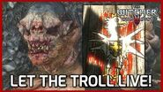 Trollololo! Witcher 3 - Let the Rock Troll Live & Help him Paint! - The Volunteer Quest
