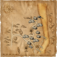 Map Murky Waters village