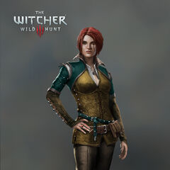 Near final concept art of Triss for <i>The Witcher 3</i>