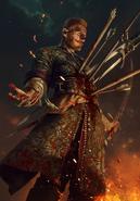 Gwent cardart neutral olgierd immortal