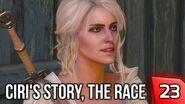 Witcher 3 Ciri's Story, The Race - Racing the Baron as Ciri! Story & Gameplay Walkthrough 23 PC