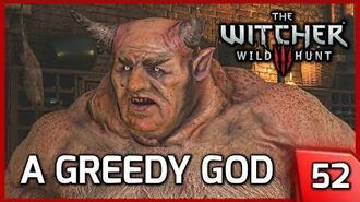 The Witcher 3 A Greedy God, Force the Allgod to Accept Offerings - Story & Gameplay 52 PC
