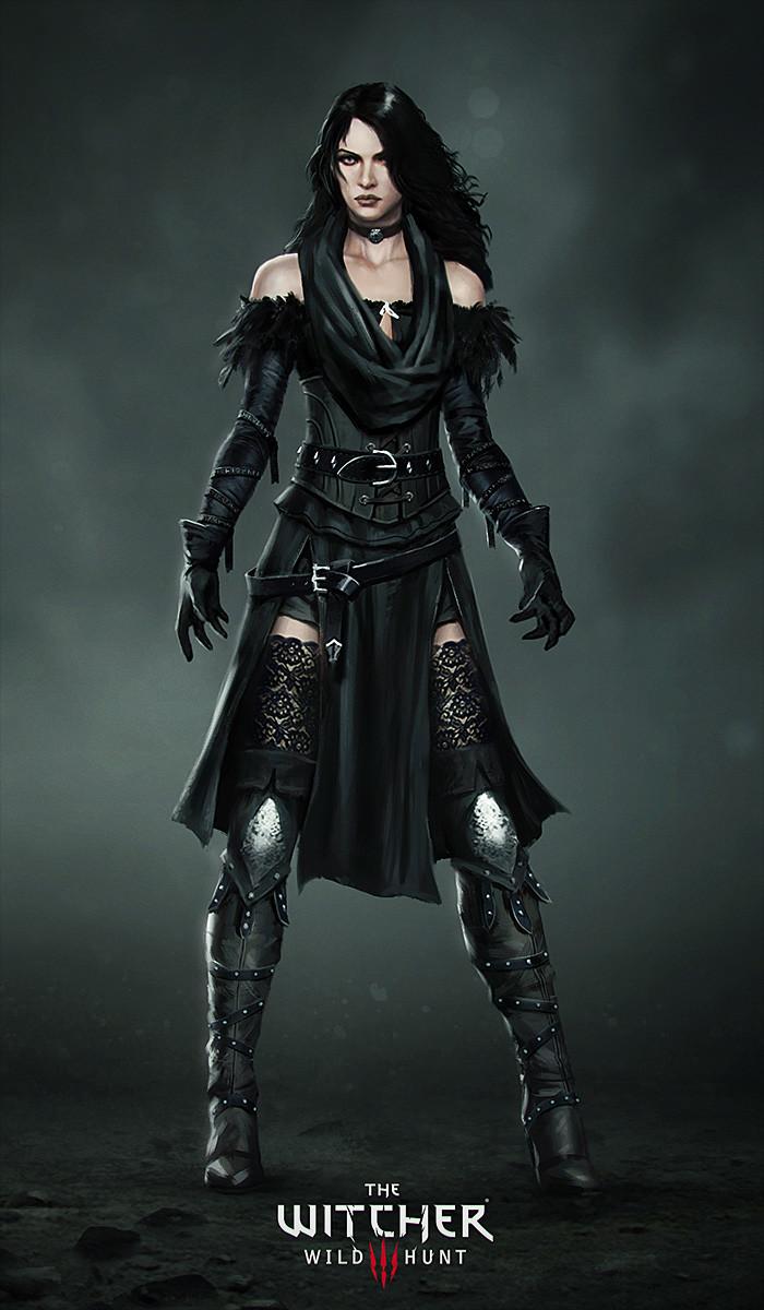 Alternative Look For Yennefer Witcher Wiki Fandom