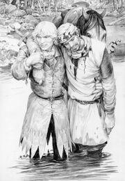 Denis Gordeev Geralt and Cahir