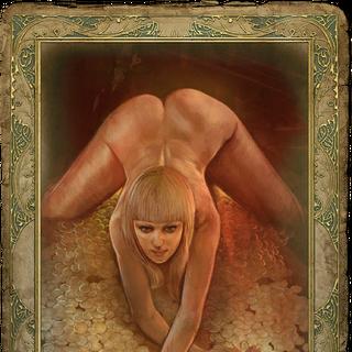 Uncensored romance card.
