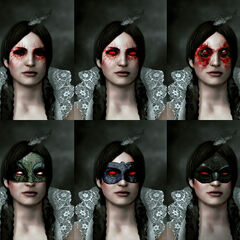 Concept art of Phillipa's eyes for <i>The Witcher 3</i>