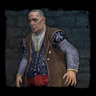 """Portret Velerada z dziennika Geralta (dział """"Postacie"""")"""