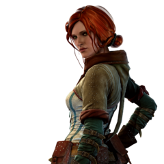 Triss in <i>The Witcher 2</i>