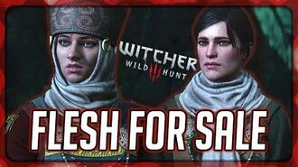 Witcher 3 Flesh for Sale