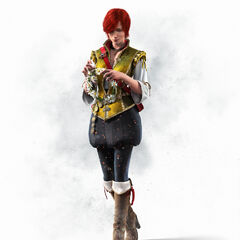 Render of Shani for <i>The Witcher 3</i>