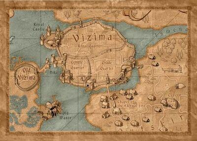 Vizima map