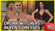 The Witcher 3 - 3 Witchers Get Drunk and Put on Yennefer's Clothes 151