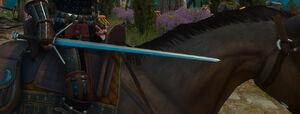 Feline-silver-sword