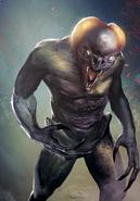 Tw3 cardart monsters vampire garkain