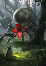 Gwent cardart monsters arachas drone