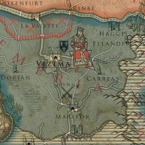 خريطة تيميريا