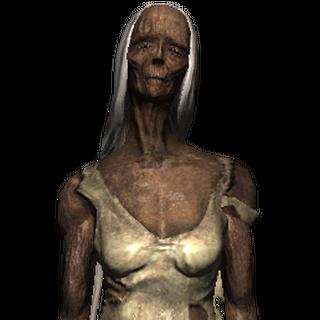 نموذج الوحش في لعبة الويتشر