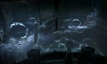 Close portals