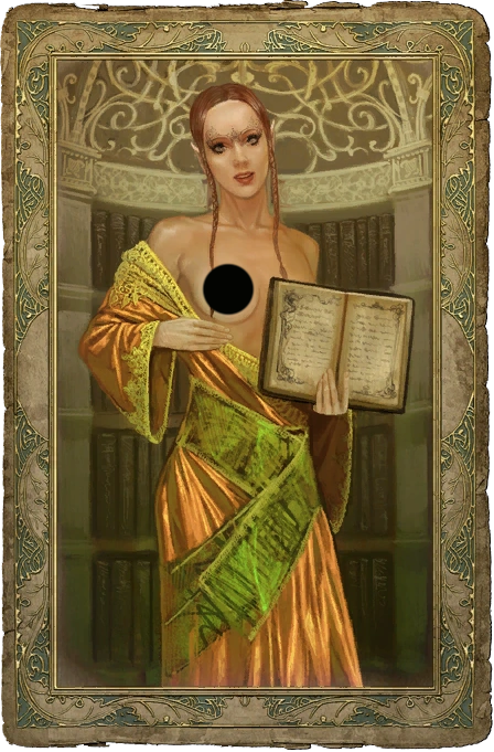 The witcher trish sex card