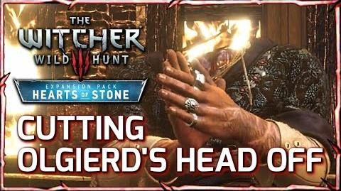 Witcher 3 ► Cutting Olgierd's Head Off in a Duel (Hearts of Stone Expansion)