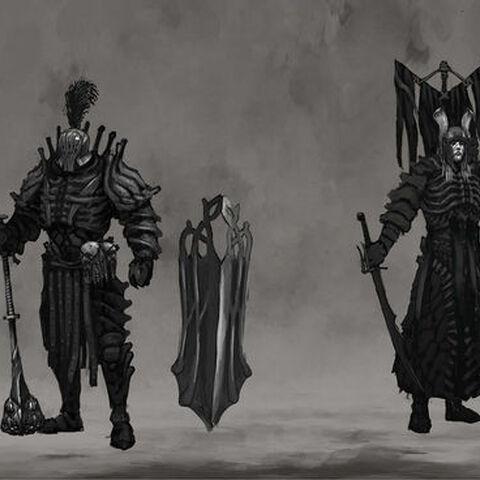 Ґе'ельс, концепт-арт броні до гри «Відьмак 3: Дикий Гін»