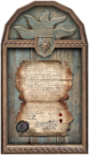 Decorative Painting framed document 2