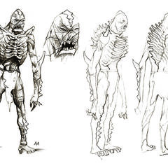 The first sketches of the mutant