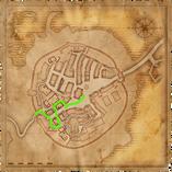 Map Old Vizima scoiatael