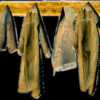 a clothes rack