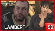 The Witcher 3 - Lambert, another Witcher who Seeks Revenge - Story and Gameplay 59 PC