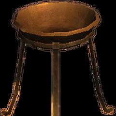 a three-legged stand