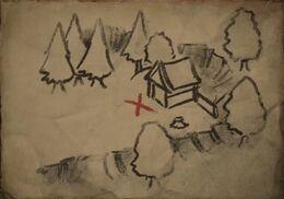 Treasure map (Miller's Bend) TB