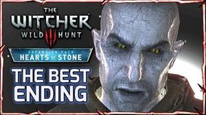 Witcher 3 HEARTS OF STONE - BEST ENDING ► Solving Master Mirror's Riddle, Olgierd Lives
