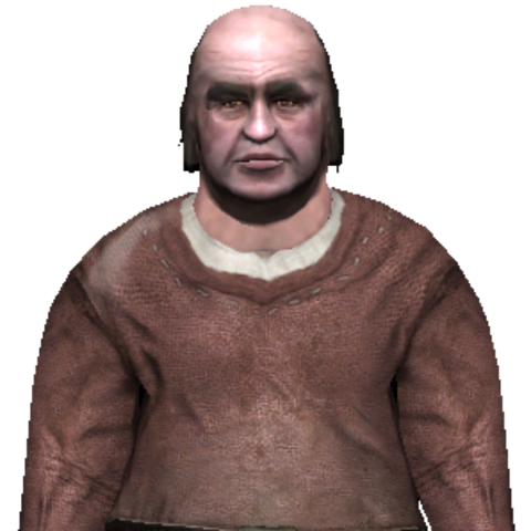 Old Brickmaker in the Witcher (PC)