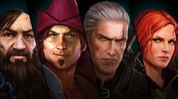 The Witcher Adventure Game Teaser