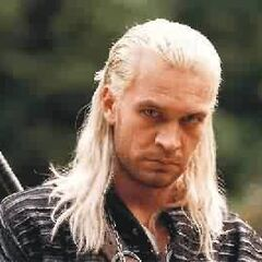 Geralt in <i>The Hexer</i> movie and TV show